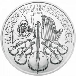 Austria Philharmonic 1 Ounce Silver 2021