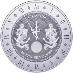 Chronos 1 unce 2021 - Investiční stříbrná mince