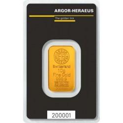 Argor-Heraeus investiční zlatý slitek 10 Gramů