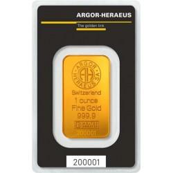 Argor-Heraeus 31,1g Investiční zlatý slitek